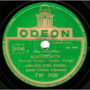 Muchachita cover