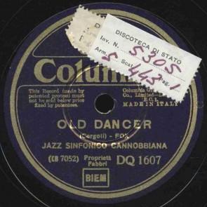 Old dancer