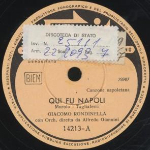 Qui fu Napoli