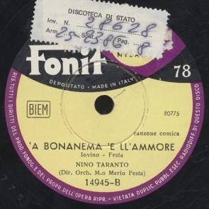 'A bonanema 'e ll'ammore