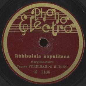 Abbissinia napulitana