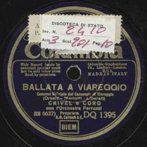 Ballata a Viareggio