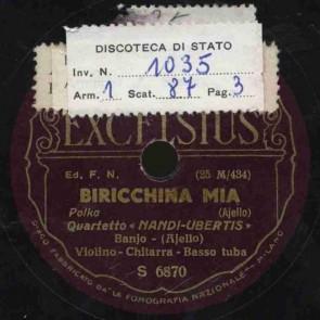 Biricchina mia