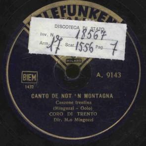 Canto de not 'n montagna