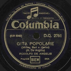 Gita popolare (Milano Bari e ritorno)