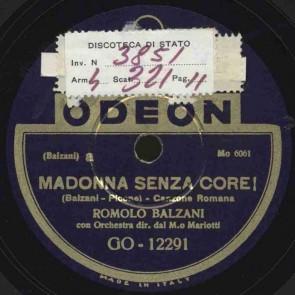 Madonna senza core!
