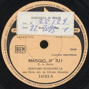 Maggio, si tu!