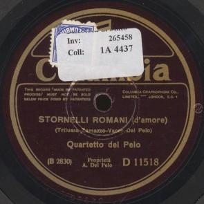 Stornelli romani (d'amore)