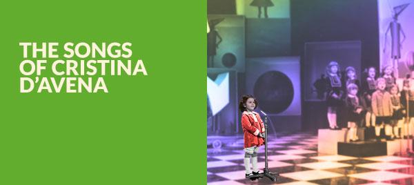 Le canzoni di Cristina D'Avena