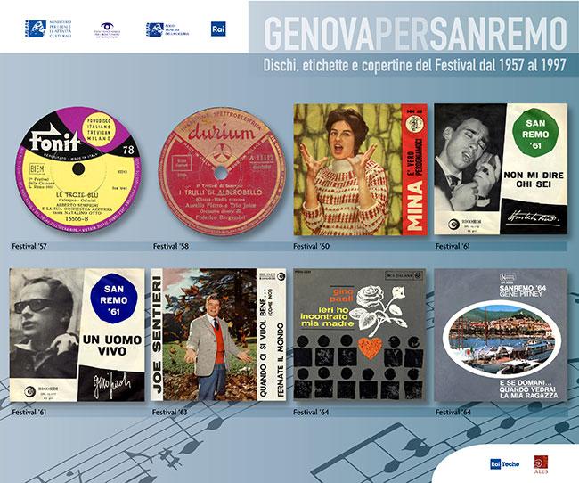 Copertine Genova per Sanremo 1
