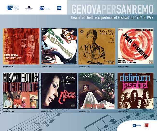 Copertine Genova per Sanremo 4