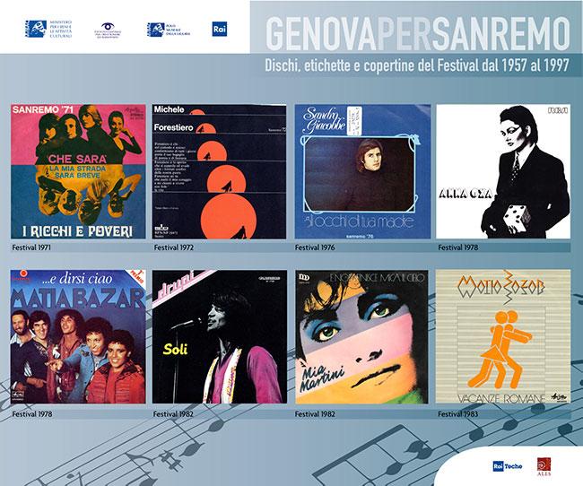 Copertine Genova per Sanremo 5
