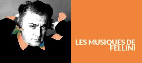 Le musiche di Fellini