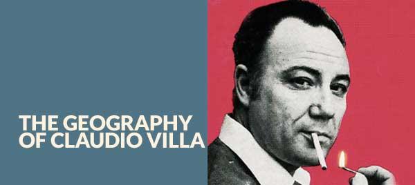 La geografia di Claudio Villa