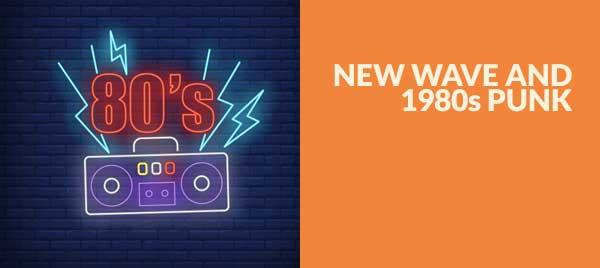 New Wave e Punk anni Ottanta