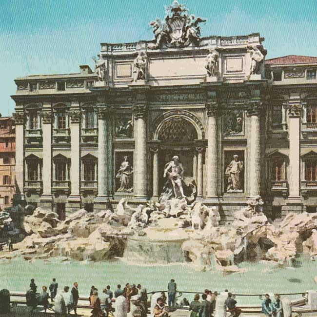 ARRIVEDERCI ROMA nel mondo