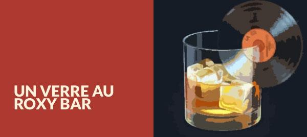 un drink al roxy bar
