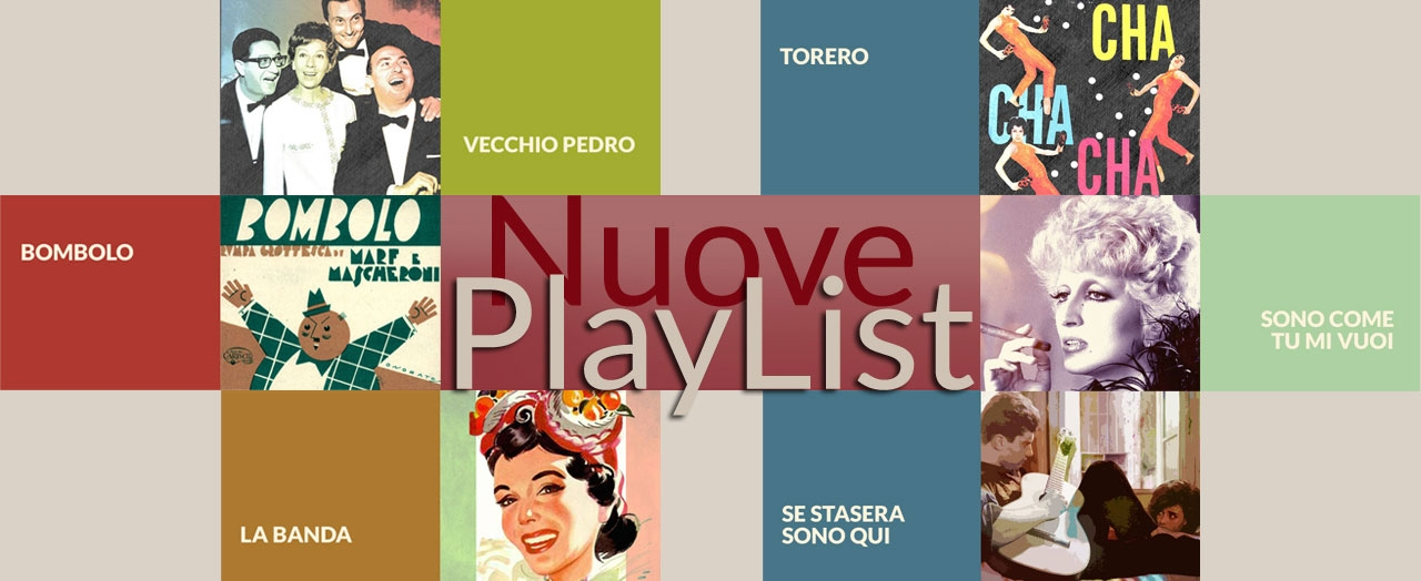 Nuove playlists
