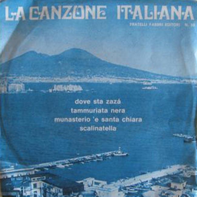 la canzone italiana